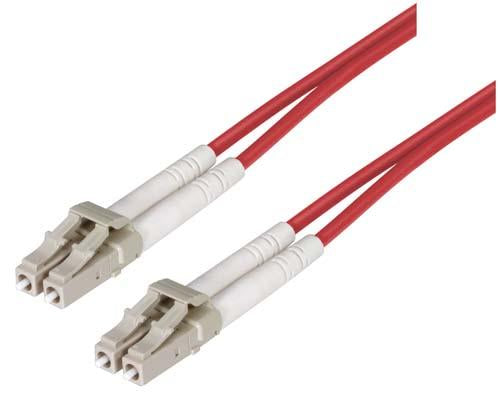 Cable om1-625-125-multimode-fiber-cable-dual-lc-dual-lc-red-150m