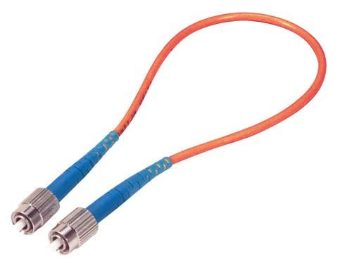 Cable fiber-loopback-with-fc-connectors-50-125