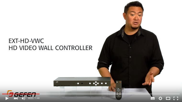 Gefen HD Video Wall Controller - Gefen Video