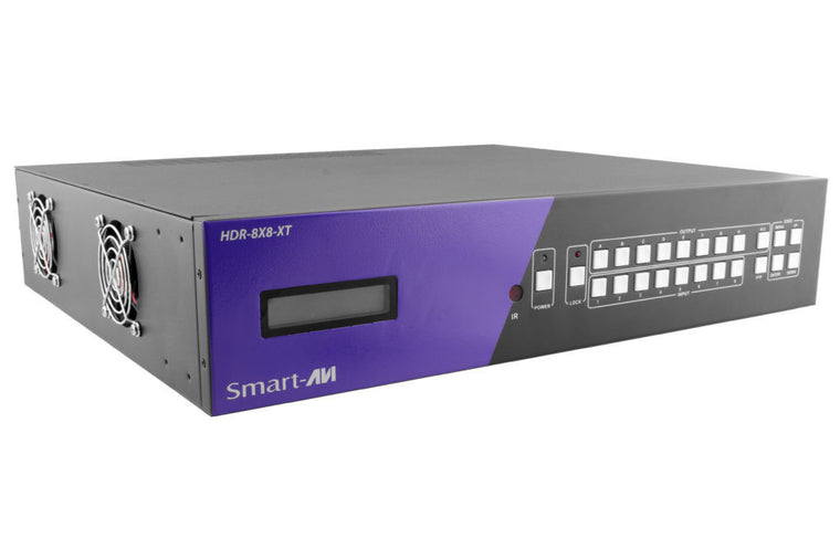 4K HDBaseT 8—8 HDMI Matrix Switch with POE
