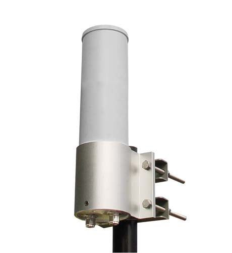 HG2406DPU  2.4 GHz 6 dBi Dual Polarity Omnidirectional MIMO/802.11n Antenna - N-Female Connectors