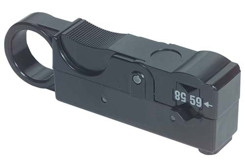HT302B  Coaxial Cable Stripper, 2-Blade for RG58/59/62