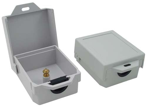 3x3x1 Inch Weatherproof NID Enclosure Single Port/Single Post