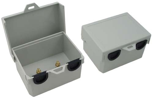 3x4x2 Inch Weatherproof NID Enclosure Dual Port/Dual Posts