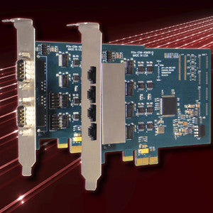 PCIe-COM232-4RJ - Serial Communication Card