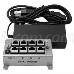 BT-CAT6-P4-4870 - PoE Injector