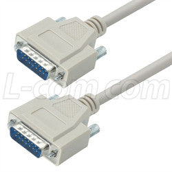 CRMN15MM-25 L-Com D-Subminiature Cable