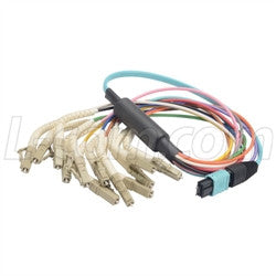 MPM12OM3-FLC-10 L-Com Fibre Optic Cable