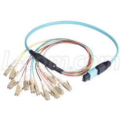 MPM12OM3-LC-1 L-Com Fibre Optic Cable