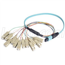 MPM12OM3-SC-10 L-Com Fibre Optic Cable
