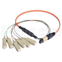 MPM6OM2-SC-10 L-Com Fibre Optic Cable