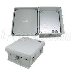 12x10x5-inch-weatherproof-nema-3r-enclosure-with-mounting-plate L-Com Enclosure