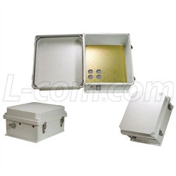 14x12x7-inch-weatherproof-nema-enclosure-with-mounting-plate L-Com Enclosure