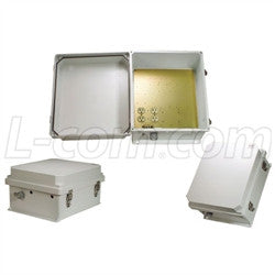 14x12x7-inch-120-vac-weatherproof-enclosure-with-heating-system L-Com Enclosure