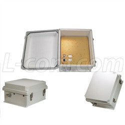 14x12x7-inch-48vdc-poe-powered-weatherproof-insulated-enclosure-with-heating-system L-Com Enclosure