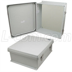 16x14x6-inch-ul-listed-weatherproof-nema-4x-enclosure-with-blank-non-metallic-mounting-plate L-Com Enclosure
