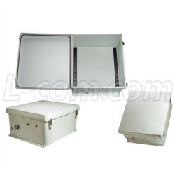 18x16x8-inch-weatherproof-nema-4x-enclosure-din-mounting-rails L-Com Enclosure