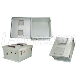 18x16x8-inch-vented-weatherproof-nema-3r-enclosure-only L-Com Enclosure
