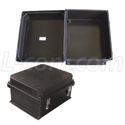 14x12x7-inch-ul-listed-black-weatherproof-nema-enclosure-only L-Com Enclosure