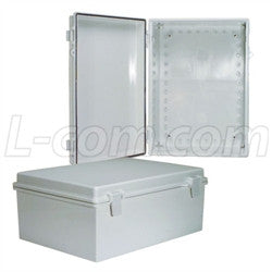 14x10x6-inch-weatherproof-abs-light-weight-enclosure-only L-Com Enclosure