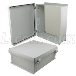 16x14x6-inch-ul-listed-weatherproof-nema-4x-enclosure-non-metal-mount-plate-non-metallic-hinges L-Com Enclosure