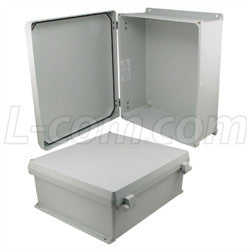 16x14x6-inch-ul-listed-weatherproof-industrial-nema-4x-enclosure-only-with-non-metallic-hinges L-Com Enclosure