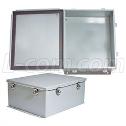 14x12x6-inch-weatherproof-nema-steel-enclosure-only L-Com Enclosure