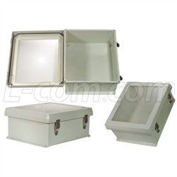 12x10x5-inch-weatherproof-windowed-nema-enclosure-only L-Com Enclosure