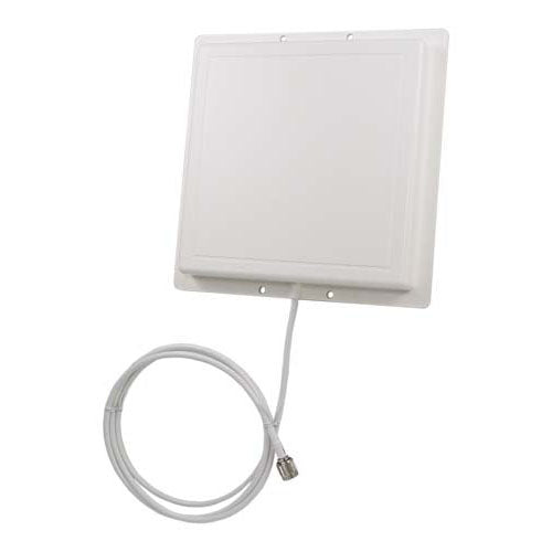 2.4 GHz 14 dBi Flat Panel Range Extender Antenna - 4ft RP-TNC Plug Connector