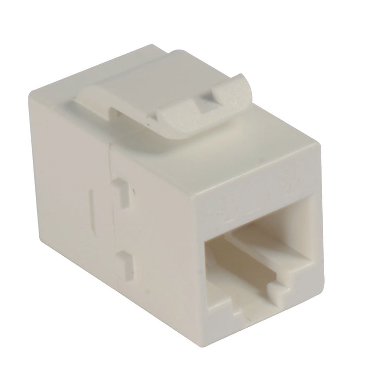Cat5e Mini Coupler - Unshielded RJ45 (8x8) Keystone Feed-thru