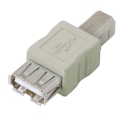UAD011FM  USB Adapter, Type A Female / Type B Male