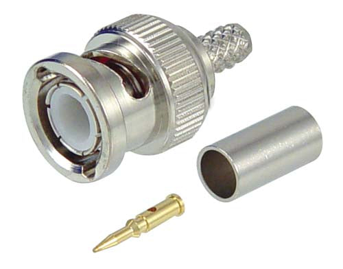 ABM-1700  Connector, BNC Male CRIMP LMR195