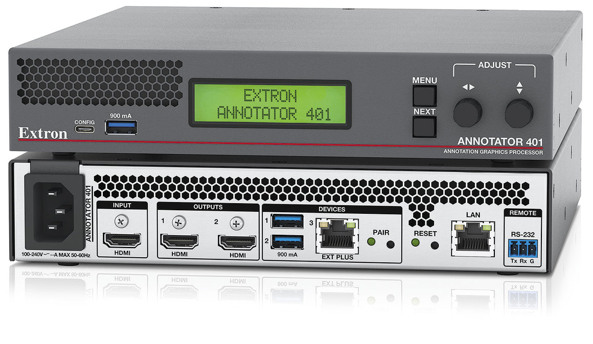 4K/60 HDMI Annotation Processor with USB Extension