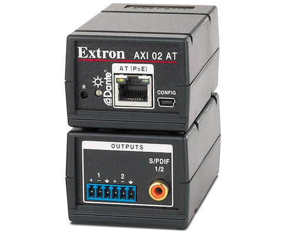 Extron AXI 02 AT Two Output Dante Audio Interface