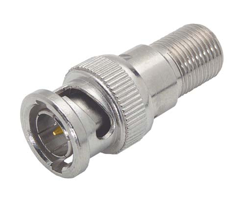 BA017  Coaxial Adapter, F Female / 75 Ohm BNC Male