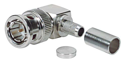 BAC543  BNC Male Right Angle 75 Ohm R59