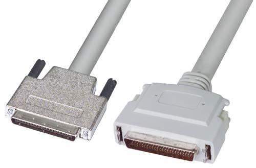 Cable ultra-scsi-cable-8mm-male-hpdb50-male-20m