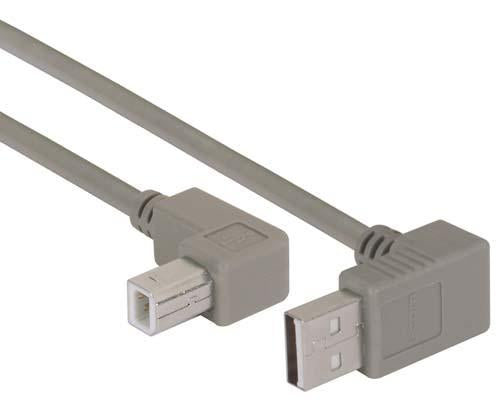 Cable angled-usb-cable-up-angle-a-male-up-angle-b-male-20m