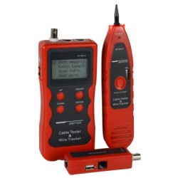 Cable Length Tester - CAT5/5e/6/6a/7, Telephone, Coaxial, USB