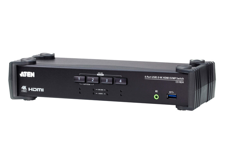 4-Port USB 3.0 4K HDMI KVMP™ Switch