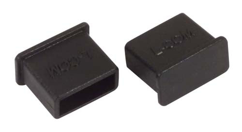 Protective Cover for USB 2.0 & 3.0 Type A Plugs, Pkg/10 CVRUSB-A