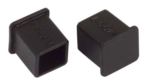 Protective Cover for USB 2.0 Type B Plugs, Pkg/10 CVRUSB-B