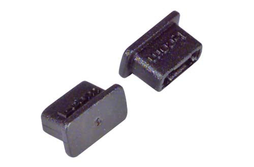 Protective Cover for USB 2.0 Type Micro B Plugs, Pkg/10 CVRUSB-MICB