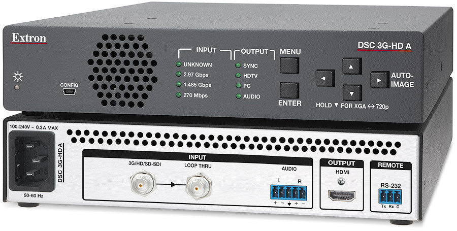 60-1303-01 | Extron DSC 3G-HD A - 3G-SDI to HDMI Scaler - ITM Components
