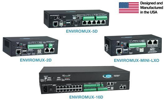 E-16D-48VDP - Large Enterprise Environment Monitoring System