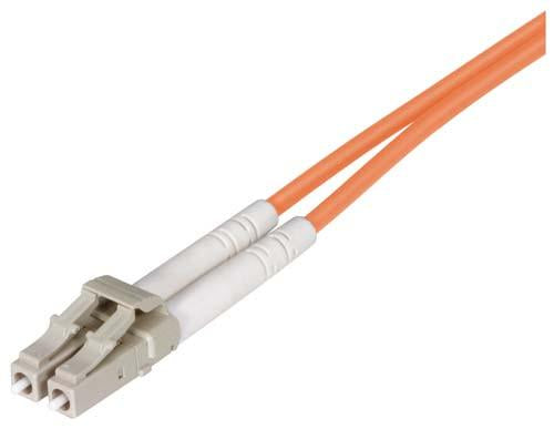 Cable om2-50-125-clipped-fiber-optic-cable-dual-lc-dual-lc-50m