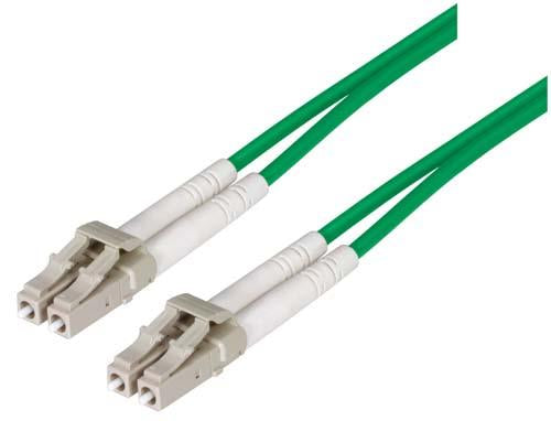 Cable om2-50-125-multimode-fiber-cable-dual-lc-dual-lc-green-100m