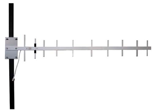 900 MHz 14 dBi Heavy-Duty Yagi Antenna N Male Connector