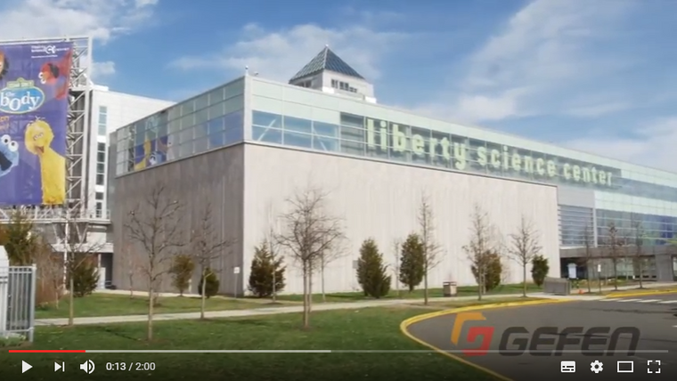 Gefen Products Behind-the-scenes at Liberty Science Centre - Gefen Video