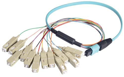 MPM12OM3-SC-05 L-Com Fibre Optic Cable